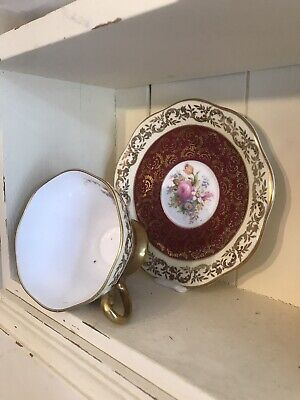 Foley Bone China 1850 Cup And Saucer  • 12£