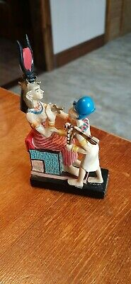 £10 • Buy IUSAAS Egyptian God Figure - Collectible Ancient Egypt - Hand Painted (glued)