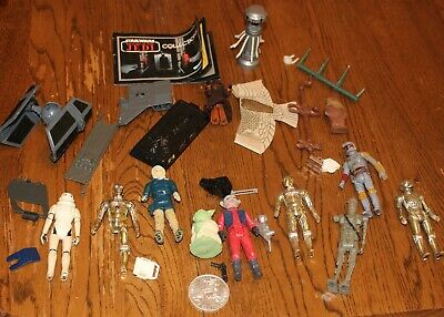 $ CDN38.02 • Buy Lot Of Vintage Star Wars Miscellaneous Pieces/Action Figures