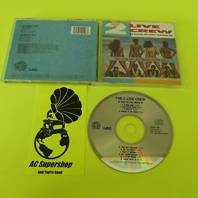 $ CDN18.39 • Buy The 2 Live Crew As Clean As They Wanna Be - CD Compact Disc