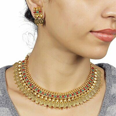 $15 • Buy South Indian Bollywood Necklace Gold Plated Wedding Fashion Women Jewelry Set