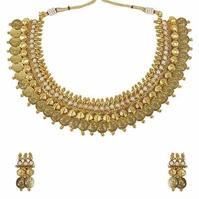$16 • Buy South Indian Bollywood Necklace Gold Plated Wedding Fashion Women Jewelry Set