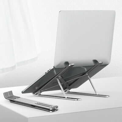 AU22.99 • Buy Laptop Stand Adjustable Notebook Table Portable Computer Desk Tray Lazy Foldable