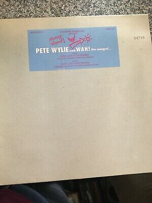 Pete Wylie And Wah The Mongrel 10 Inch Vinyl Record Excellent Condition • 10£