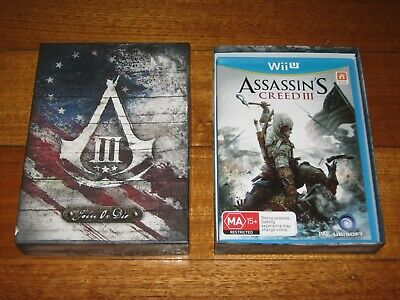 AU199.99 • Buy Assassins Creed 3 - Join Or Die - Nintendo Wii U - PAL - VGC - Game & Box - Rare