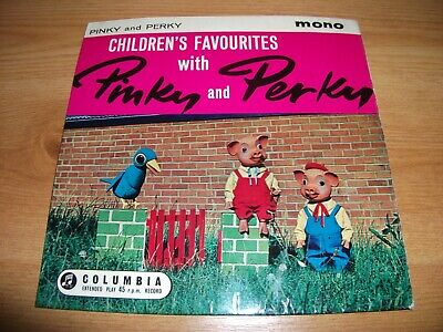 Children's Favourites With Pinky And Perky 7  Vinyl Ep • 2.49£