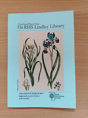 £4.99 • Buy 18th Century Science In The Garden - Royal Horticultural Society