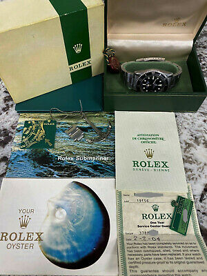 $ CDN39544.69 • Buy Vintage Rolex RED SUBMARINER 1680 Box Paper 1974 Plus Factory Service Papers
