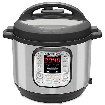$124.49 • Buy Instant Pot 8-Quart 7-in-1 Programmable Pressure Cooker Slow Cook Rice Steamer