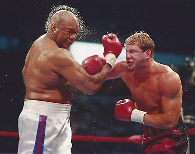 £2.90 • Buy TOMMY MORRISON Vs GEORGE FOREMAN 8X10 PHOTO BOXING PICTURE