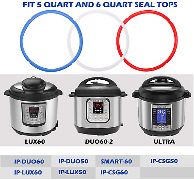 $12.80 • Buy Netany Silicone Sealing Rings For Instant Pot 6 Quart 3 Pack  Seals