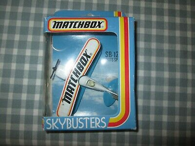 Matchbox Skybusters SB-12 - Pitts Special Plane - Boxed • 5£