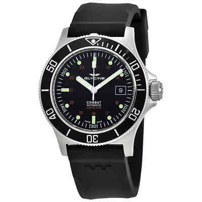 $ CDN394.72 • Buy Glycine Combat Sub Automatic Black Dial Men's Watch GL0087