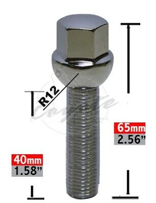 $ CDN91.97 • Buy 814116 40 Lug Bolt Ball Seat Lug Bo