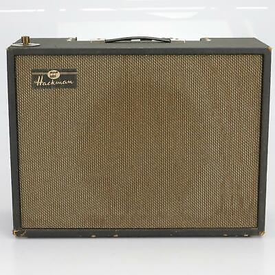 $ CDN260.89 • Buy Hackman Vintage Solid State Organ Accordion Guitar Amp Amplifier 1X12  #40334