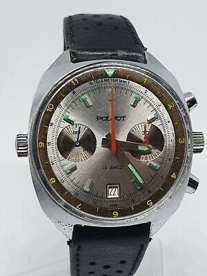 POLJOT Sturmanskie 3133 Vintage Soviet Watch USSR Chronograph 1st Watch In Space • 275£
