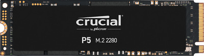 Crucial P5 M.2-2280 1TB PCI Express 3.0 X4 NVMe Solid State Drive • 145.83£