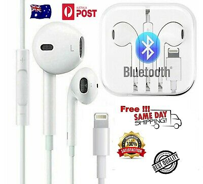 AU15 • Buy Wired Bluetooth Earphones Headphones For Applle IPhon11 8 7 6 5 X XR IPad Lot