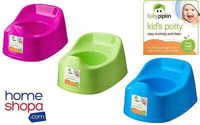 2 Childrens Training Potty Kids Baby Toddler Bathroom Plastic Toilet Seat Mobile • 6.99£