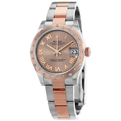 $ CDN18295.60 • Buy Rolex DateJust 31Automatic Ladies Stainless Steel 18 Ct Everose Gold 278341PRO
