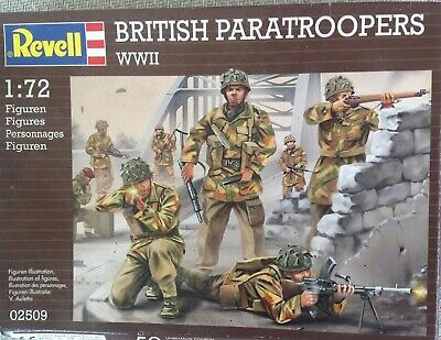Revell 1/72 British Paratroops (WW2) 02509 • 5.99£
