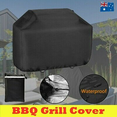 AU24.58 • Buy BBQ Cover 4/6 Burner Waterproof Outdoor Charcoal Barbecue Grill Protector Oxford