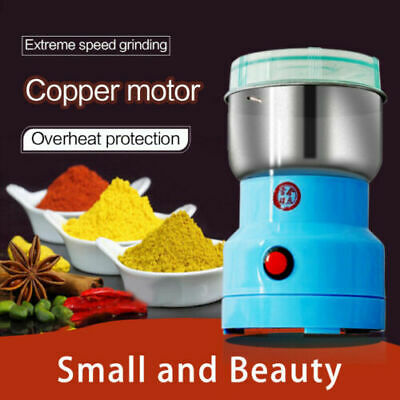 AU27.39 • Buy Electric Coffee Bean Grain Spice Nut Grinder Household Kitchen Grinding Tool