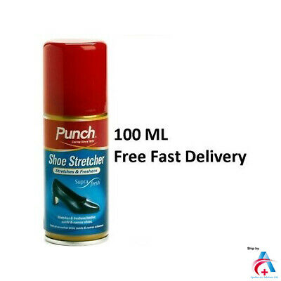 PUNCH Shoe Stretch Spray/Leather Shoe/Boot Stretcher & Pain Relief/Boot Softener • 5.99£