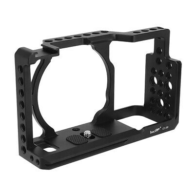 $ CDN77.83 • Buy Haoge Cage For Sony A6500 A6400 A6300 A6000 Camera Protection Cover Stabilizer
