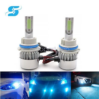 $18.89 • Buy 9007 HB5 8000K Ice Blue LED Headlight Bulbs High Low Beam Conversion Kit Pair US
