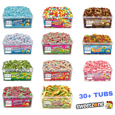 Sweetzone Halal HMC Sweets Tubs Largest Range Available 30+ Variety • 6.99£