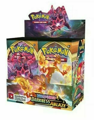 View Details Sword & Shield Darkness Ablaze Booster Box 36 Ct NEW Pokemon TCG SHIPS BY 8/14 • 88.95$