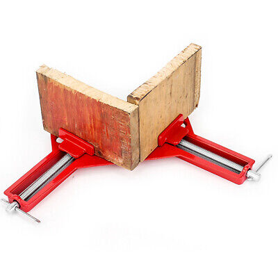 $10.59 • Buy 90° Degree Right Angle Frame Corner Clamp Holder Woodworking Hand Tool Kit USA