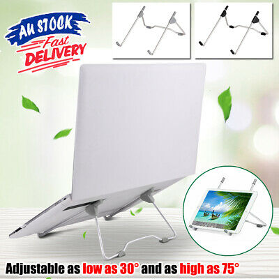 AU10.99 • Buy Portable Laptop Stand Foldable Adjustable  Notebook Desk Table Tray Home Office