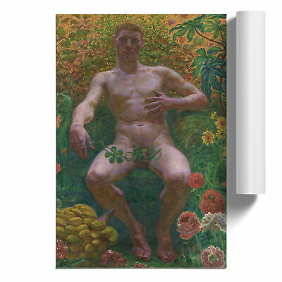 Kristian Zahrtmann Nude Male Poster Print Wall Art Unframed Picture Home Décor • 16.95£