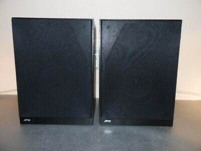 Jpw Bookshelf Mini Monitor Black Bookshelf Speakers • 55£
