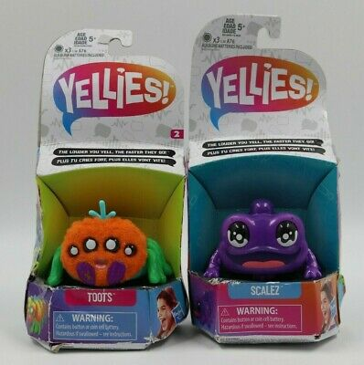 $14.99 • Buy Habro Yellies! Toots Scalez Voice Activated Toys Lot 2 NEW