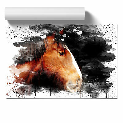 Shire Horse V3 Poster Print Wall Art Unframed Picture Home Décor • 16.95£