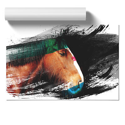 Shire Horse V2 Poster Print Wall Art Unframed Picture Home Décor • 13.95£