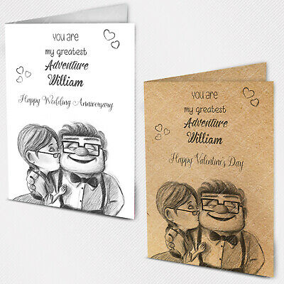 Personalised Wedding Anniversary Love Card 40th 20th 15th 10th 5th 1st Parents • 4.65£