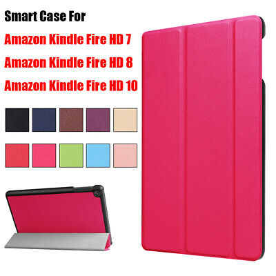 Shell Protective Cover Smart Case For Amazon Kindle Fire HD 7 8 10 2017 2018 • 6.15£