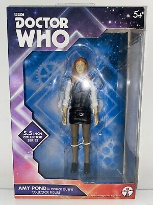 DOCTOR WHO COMPANION FIGURE - AMY POND In POLICE OUTFIT - 11th DR ERA • 12.99£