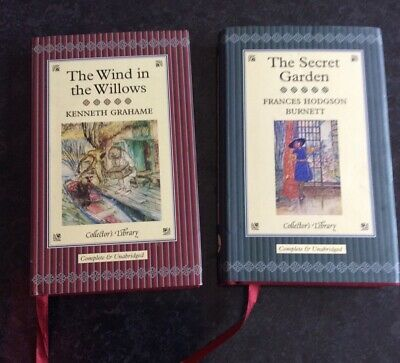 The Secret Garden & The Wind In The Willows 2 Books From Collector's Library 200 • 2.49£