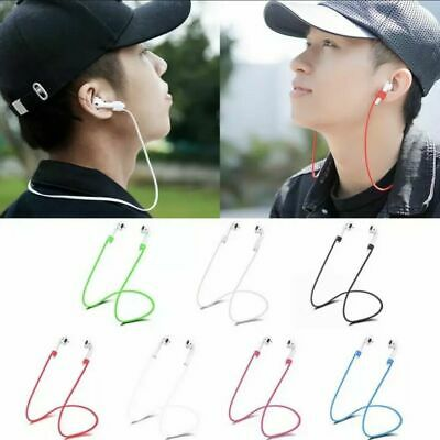 $ CDN4.26 • Buy New Anti-lost Soft Silicone Neck Strap Rope For Apple Airpods Airpod Earphone