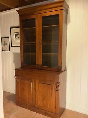 AU1400 • Buy Antique Victorian Cedar Bookcase