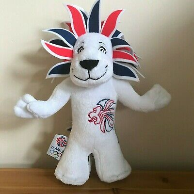 Pride The Lion London Olympics Collectible 2012 Team GB Mascot Soft Plush 10  • 6.99£