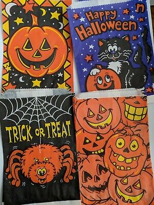 $ CDN17.16 • Buy Vintage Halloween-Trick Or Treat Candy Bag Lot