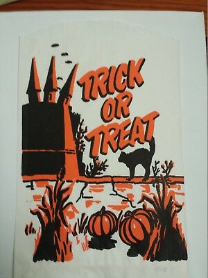 $ CDN21.12 • Buy Vintage Halloween-Trick Or Treat Candy Bag-Large-Lot Of 2
