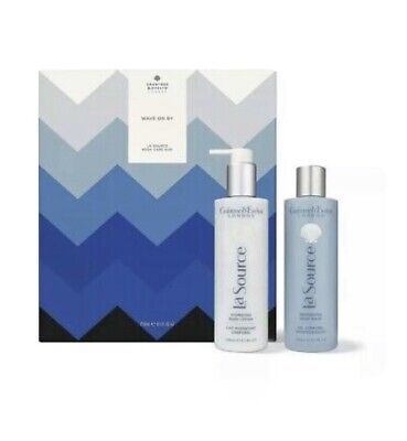 Crabtree And Evelyn La Source Duo Body Wash 250ml And Body Lotion 250ml Set • 35£