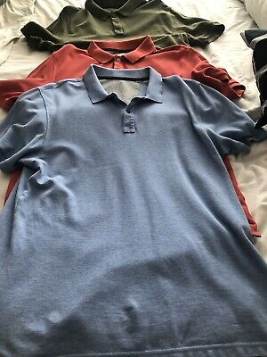 Marks And Spencer Polo Shirt Large 3 Of • 4.20£